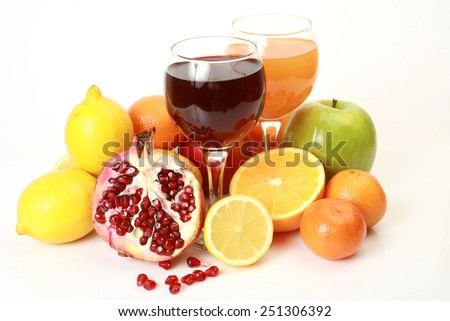 Ripe fruit for a healthy feed - stock photo