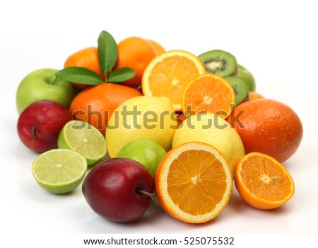 ripe fruits for diet