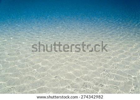 ripple water wave in sea ocean - stock photo