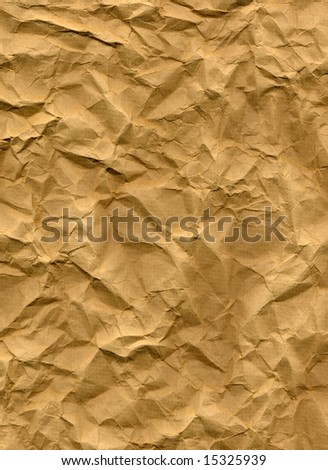 Rippled paper sheet - stock photo