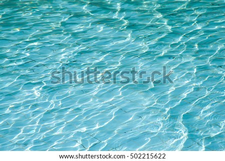 Underwater aqua blue water texture stock photo 30470842 - How to make swimming pool water blue ...