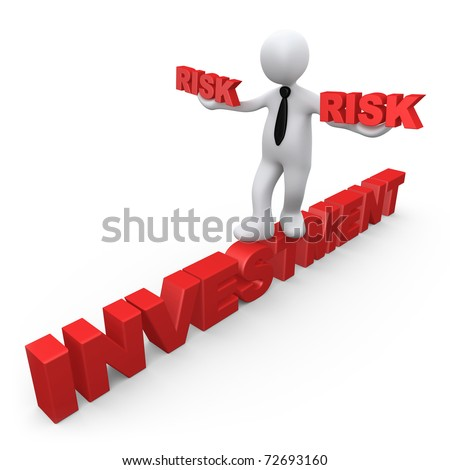 Risk In Investment - stock photo