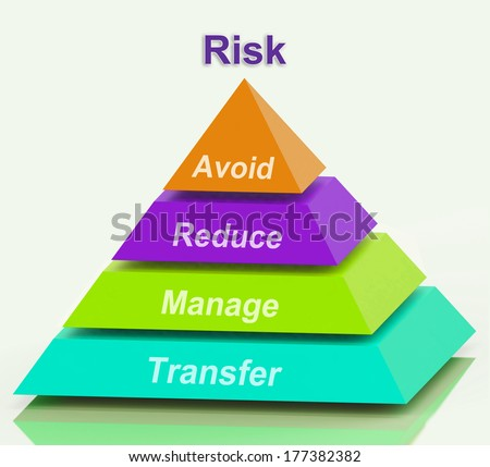 Risk Pyramid Meaning Avoid Reduce Manage And Transfer