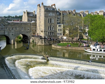 River Avon Bath UK