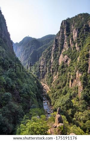 River Canyon - stock photo