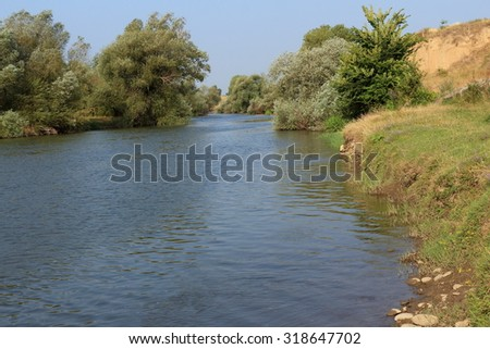 River in Bulgaria