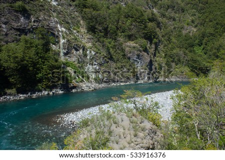 River in Patagonia - Chile