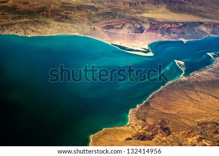 River Mouth - stock photo