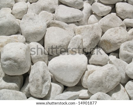 River stone abstract background