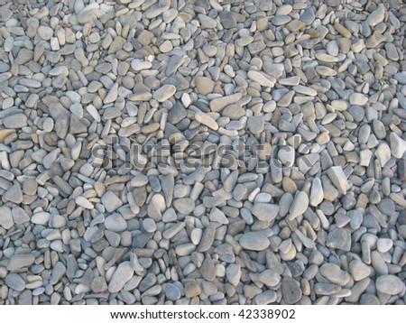 River Stone Background - stock photo