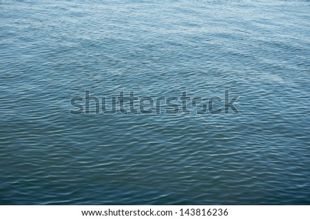 river water - stock photo