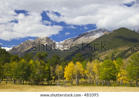 RMNP, CO - stock photo
