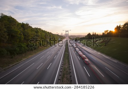 Road  - stock photo