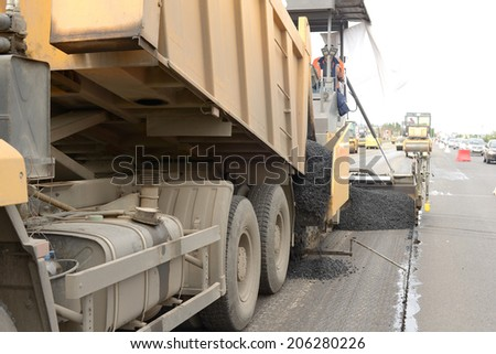 road construction equipment machines