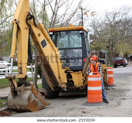 Road Construction Workers Standing Around 15846 | LOADTVE