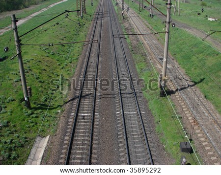 Road for away - stock photo