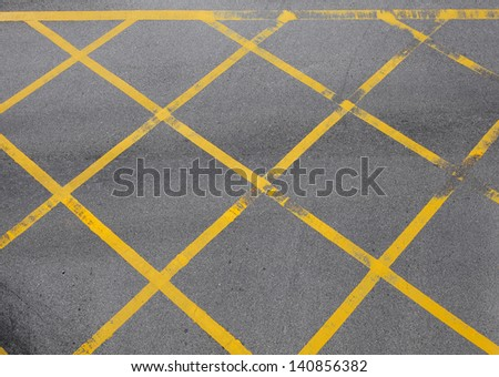 Road junction in city - stock photo