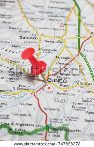 Road Map City Reggio Emilia Italy Stock Photo 747852826 Shutterstock