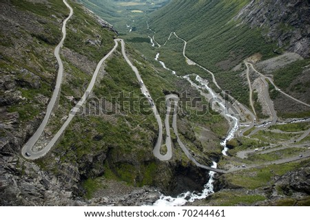 road of the Trolls, Norway