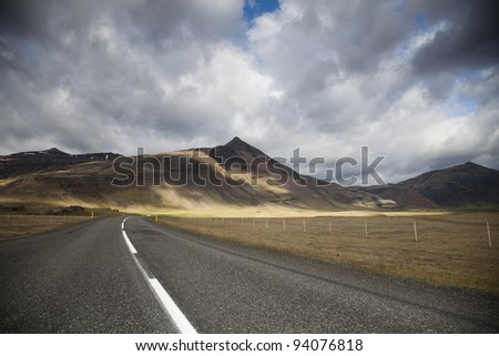 Road on Iceland
