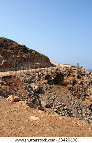 road on the crete