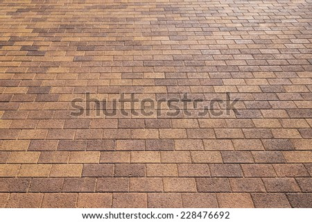 Road pavement texture background close up - stock photo