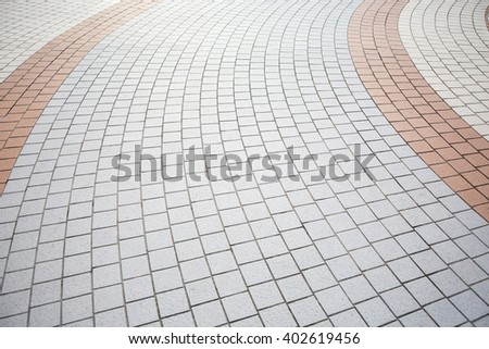 road paving background - stock photo