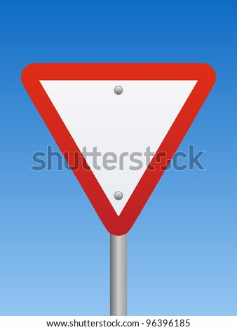 Road Sign - Attention