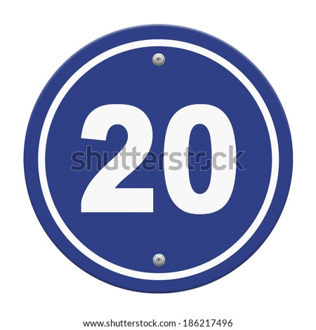 road sign indicating a speed limit