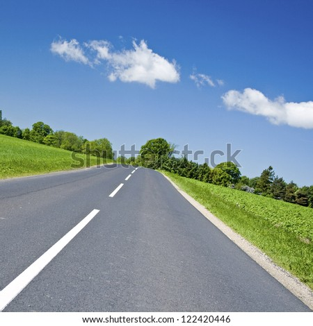 Road to ? - stock photo