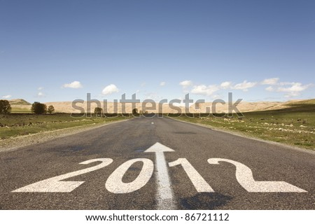road to new year 2012