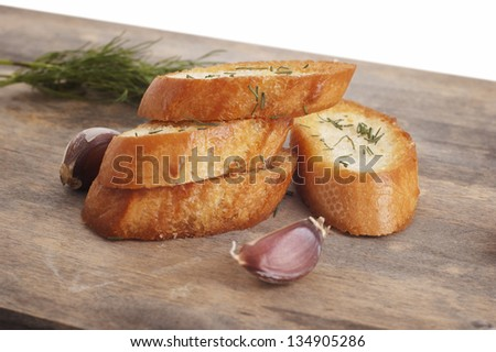 Garlic bread with herb Stock Photos, Images, & Pictures | Shutterstock