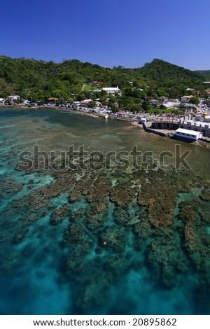 Roatan Island, Honduras - stock photo