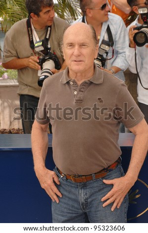 "Robert Duvall at photocall for his new movie ""We Own the Night"" at the 60th Annual International Film Festival de Cannes. May 25, 2007  Cannes, France.  2007 Paul Smith / Featureflash"