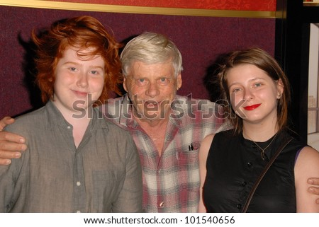 "Robert Morse with Charles and Allyn Morse at AMC's ""Mad Men"" Season 4 Los Angeles Premiere, Mann Chinese 6, Hollywood, CA 07-20-10"