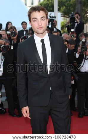 Robert Pattinson arriving for the 'On the Road' premiere during the 65th Cannes Film Festival, Cannes, France. 23/05/2012 Picture by: Henry Harris / Featureflash