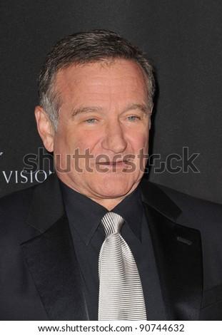 Robin Williams at the 2011 BAFTA/LA Britannia Awards at the Beverly Hilton Hotel. November 30, 2011  Beverly Hills, CA Picture: Paul Smith / Featureflash - stock photo