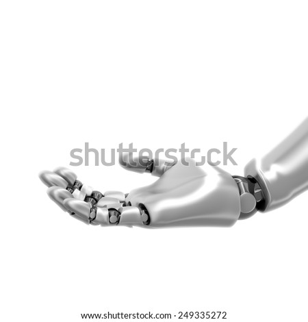 Robot hand  - stock photo