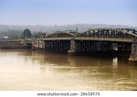 Rochester Bridge - stock photo
