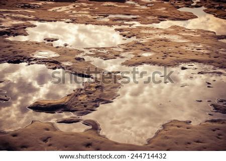 Rock  - stock photo