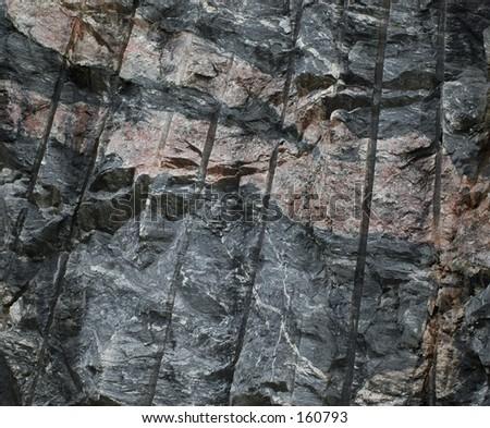 Rock Face - stock photo