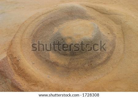Rock Nipple - stock photo