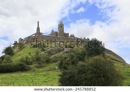 Rock of Cashel. County Tipperary in Ireland - stock photo