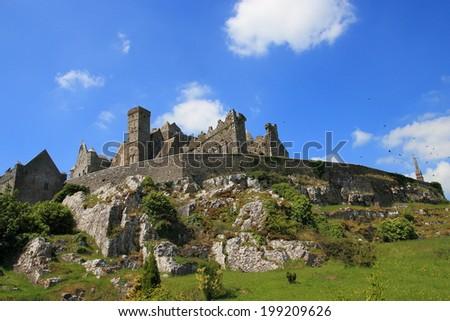 Rock of Cashel, County Tipperary, Ireland, Europe - stock photo