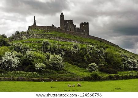 Rock of Cashel Ireland - stock photo