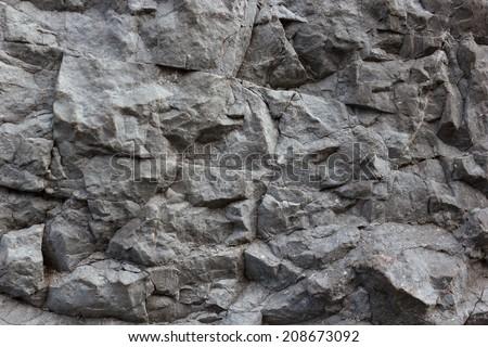Rock texture background - stock photo