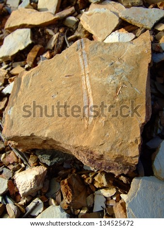 Rocks for background - stock photo