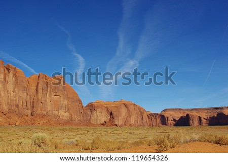 Rocks in Monument Valley, Arizona