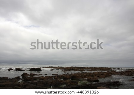 Rocks in the coast
