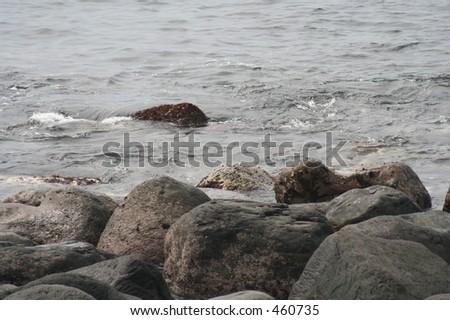 Rocky Coast 2 - stock photo